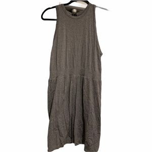 lululemon Grey Tank Dress with Built in Shorts